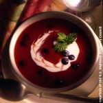 image: Blueberry Soup - image courtesy of the High Bush Blueberry Council