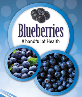 Handful of Health Blueberries Are Nature's Super Fruit