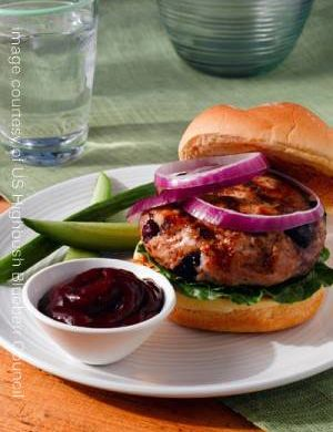 image turkey blueberry burger