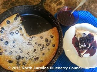 image Blueberry Dutch Puff Pancakes