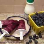 Blueberry and Cream Ice Pops By Sara Moulton